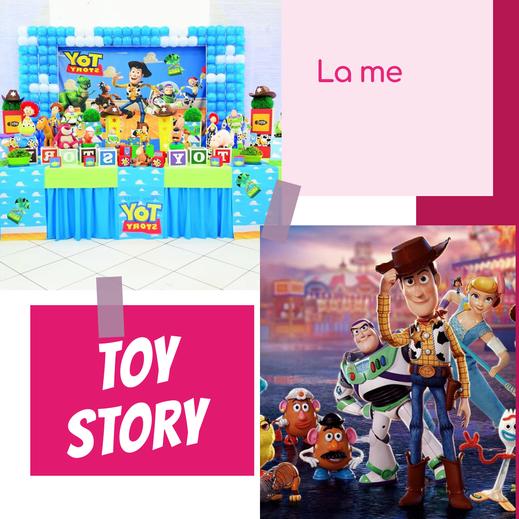 mesa de toy story para fiestas