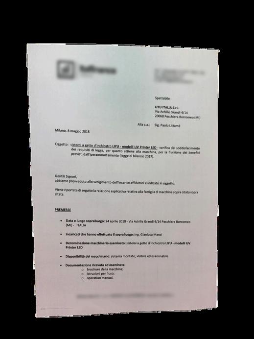 Certificazione industria 4.0
