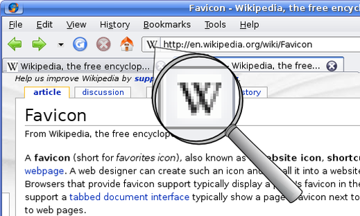 Favicon Wikipedia