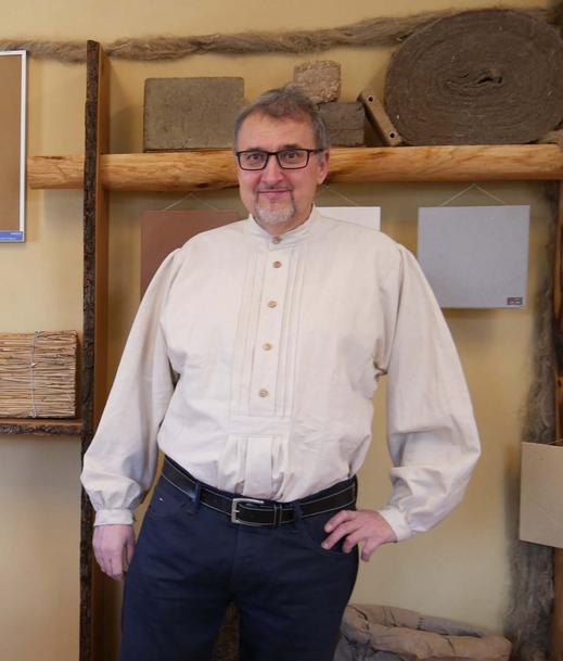 Bernd Digeser, Bautechniker, Naturbaustoffhaus