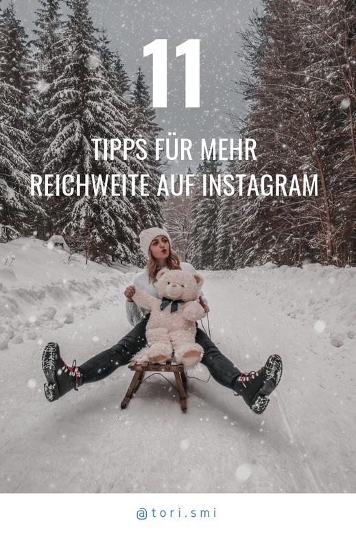 11 Tipps für mehr Reichweite auf Instagram