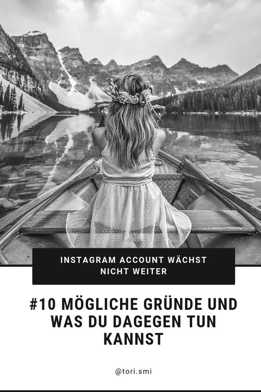 Instagram Account wächst nicht weiter