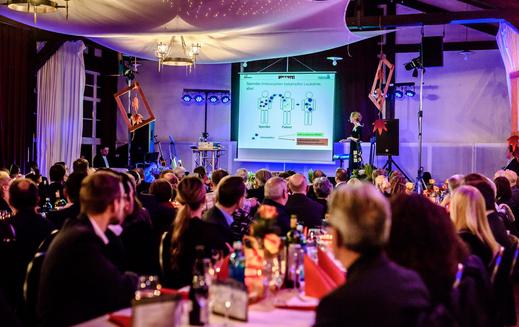 Business meets Charity 2017 von INDUSTRIA WOHNEN für KGF