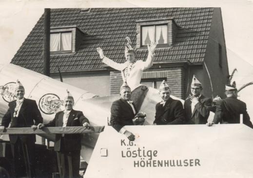 Die KG im Veedelszoch 1960