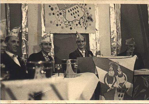 2.v.l. Gerd Vogt, Peter Staat und Präsident Martin Sauer