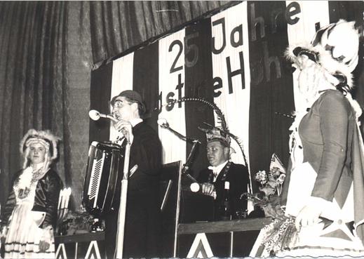 25-jähriges Jubiläum 1964 im Helen-Theater