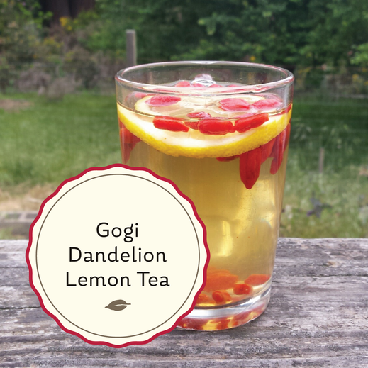Radiant Reality Blog | Gogi Dandelion Lemon Tea