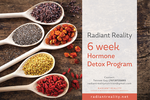 Radiant Reality | Offerings - 6 Week Hormone Detox Program
