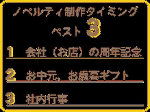 Caneのノベルティ制作ベスト3