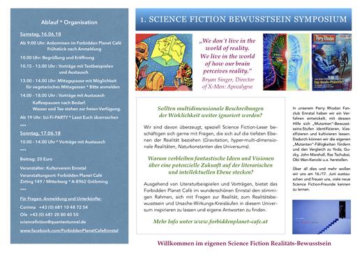 Für Ansicht Flyer Sci-Fi-Symposium Seite 2 aufs Bild klicken