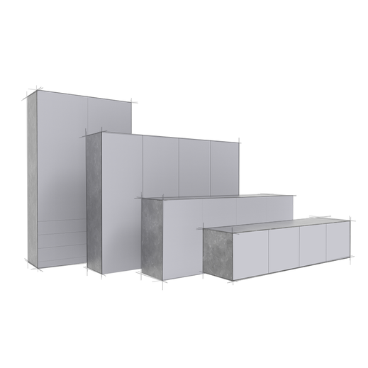 Korpus Design Variationen