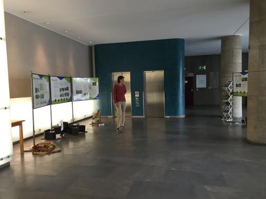 Die Ausstellung im Rathaus