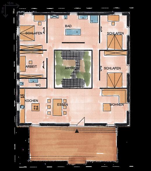 Römische Villa  Treibholz GmbH