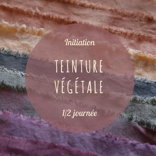 teinture végétale - plantes - jardin -stage - couleurs naturelles