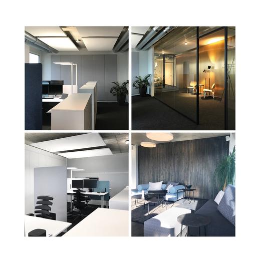 Persönlich, praktisch, hell, ergonomisch eingerichtete Arbeitsplätze von RE/MAX