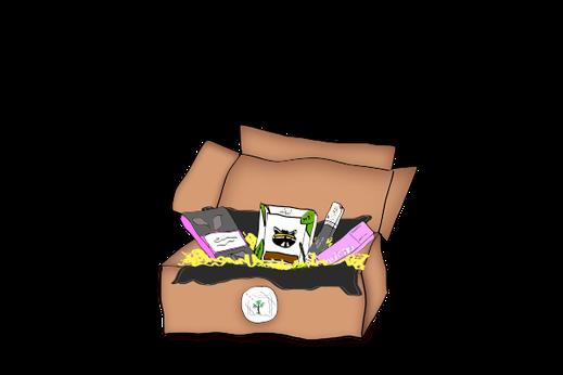 vegane - Box palmölfrei- oder Schokolade - Box