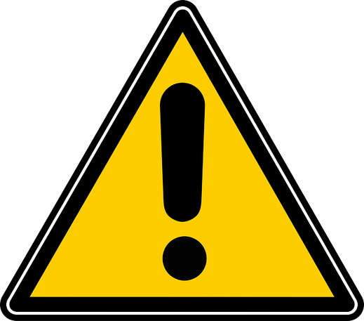 Warning label of chemicals in products