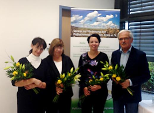 Der Vorstand des Palliativvereins Ilm-Kreis