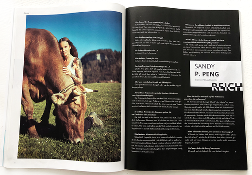 Sandy P. Peng Interview DIE VORARLBERGERIN Magazin