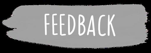 feedback, deine meinung,