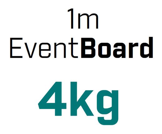 OnTruss EventBoard | niedriges Gewicht, nur 4kg pro Meter