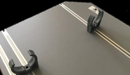 OnTruss EventBoard PREMIUM | Unterseite in glatter Ausführung