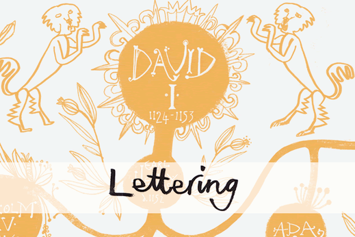 Jill Calder Portfolio - Lettering - Jill Calder creates bespoke hand lettering and calligraphy for design, advertising, packaging, editorial and publishing clients.
