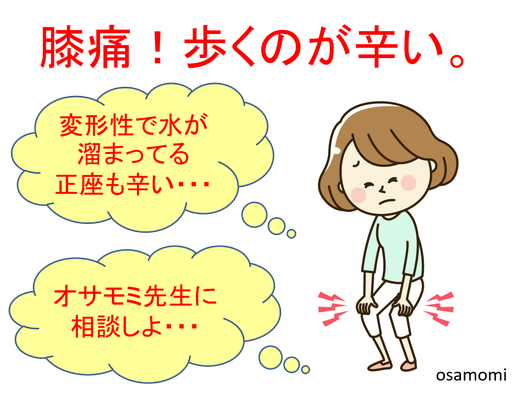 膝痛改善で圧倒的実績!昭島市のオサモミ整体院。拝島駅から無料送迎サービス。