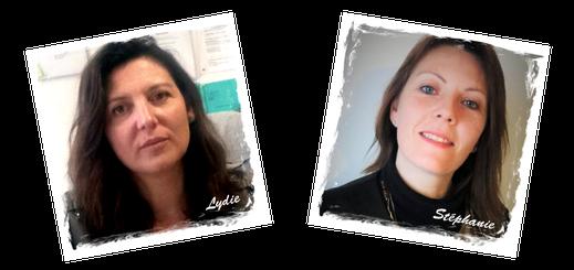 Mme Marché Lydie et Mme Giroire Stéphanie, equipe de dynamob association pour la mobilité Loudun 86