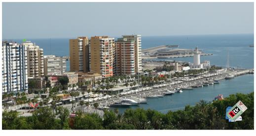 Puerto de Málaga y Faro