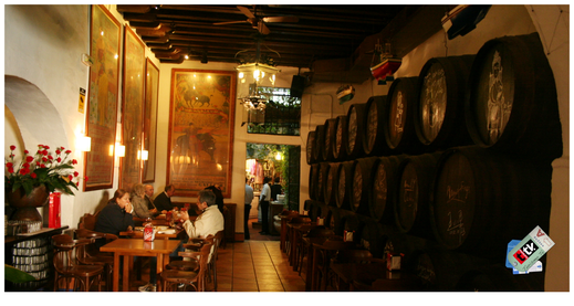 Emblemática Bodega Bar El Pimpi