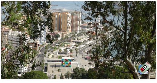 Museo Pompidou en el Puerto de Málaga
