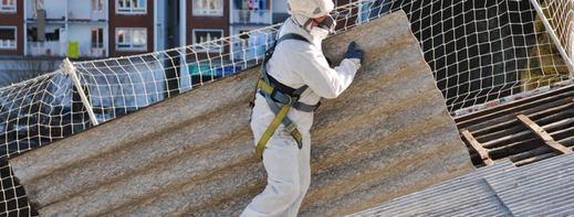 Bild zum Thema Asbestentsorgung der Peter Fleschhut Spenglerei GmbH in 64658 Fürth, Odenwald