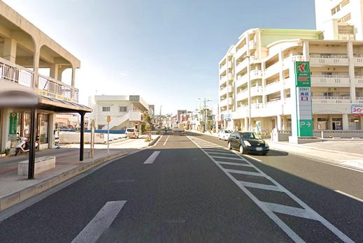 101 沖縄/白浜1丁目交差点