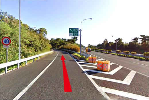 101 沖縄/石川インターチェンジ出口