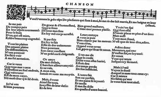 Adrian Le Roy - Second Livre (1555) - Johann von Solothurn