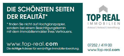 Top Real Immobilien GmbH, Steyr, Anzeige Lesezirkel 2018