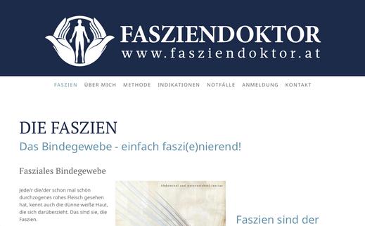 Webseite Dr. Matthias Brandstetter - der FASZIENDOKTOR