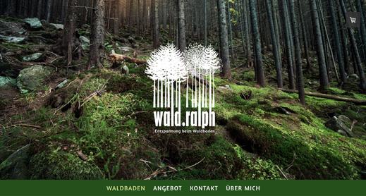 Waldbaden: Webseite von Wald-Ralph, Ralph Hatt