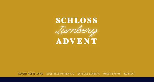 SCHLOSS.Lamberg.ADVENT, Weihnachtsausstellung Schloss Lamberg, Beate Seckauer, schloss-advent