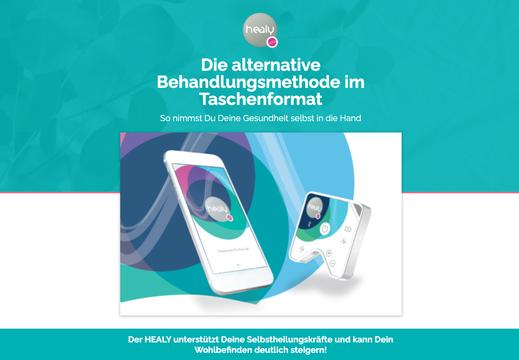 Healy, Heilfrequenzen Info Österreich, Selbstheilkräfte unterstützen