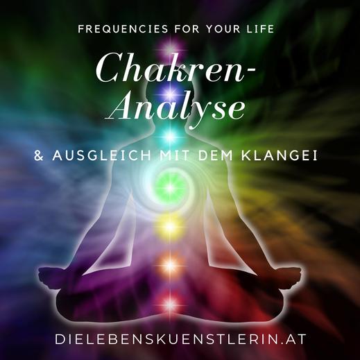 Healy Resonance Aura-Analyse und Frequenztherapie und Chakren Balance mit dem Klangei in Steyr