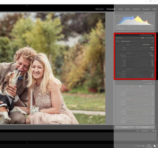 Draußen, Tageslicht - Canon 6D - Grundeinstellungen für HDR Retro Old Effekt
