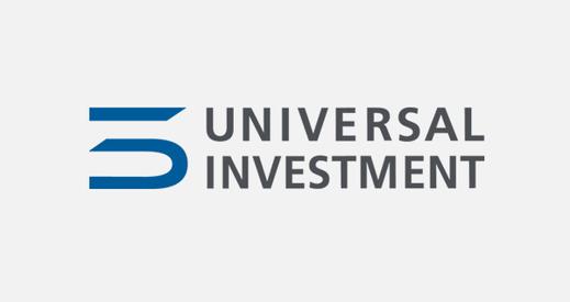 Logo unseres Kunden Universal Investment