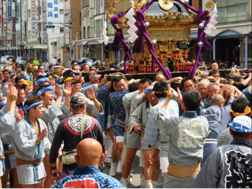 矢先稲荷神社例大祭(2016.6.19) :投稿ⓒ橋本友宏さん