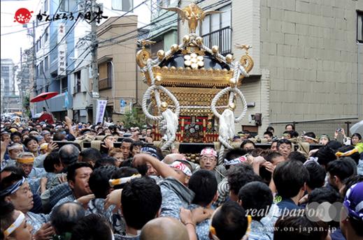 鳥越祭,鳥越神社,千貫神輿