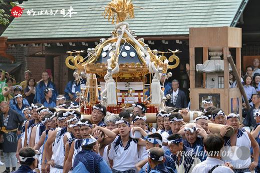 住吉神社例祭,本祭,八角神輿,3年に一度,2018