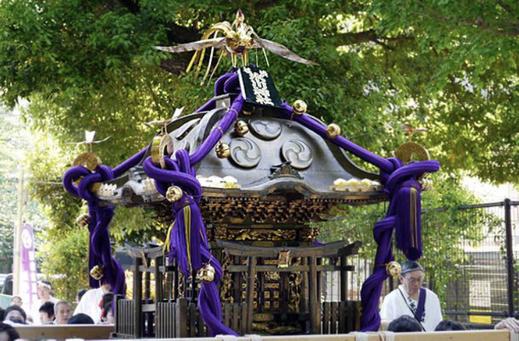 渋谷氷川神社 天皇陛下御即位三十年奉祝記念渡御, 2019年4月29日, 伝説の宮神輿