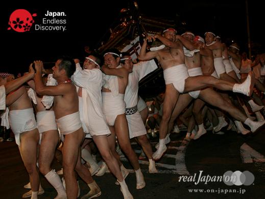 大和田氷川神社 ,夏まつり, 一反晒し褌, はだか神輿, 新座市指定無形民俗文化財, やんよー