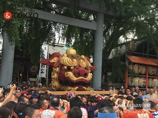 つきじ獅子祭 2018 ⓒreal Japan 'on